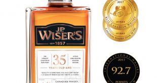 JP Wiser's 35, desemnat cel mai bun whisky canadian din 2018
