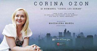 Corina Ozon, din nou la Montreal si… o dubla lansare