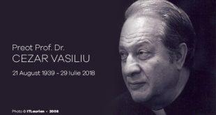 Preot prof. Cezar Vasiliu a decedat