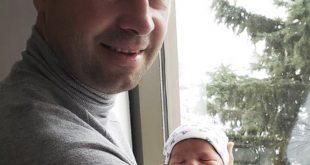 Familia lui Lucian Bute, al doilea copil: un baietel