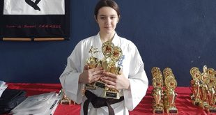 Despre copiii romanilor din Canada: Flavia, noi succese pe tatami