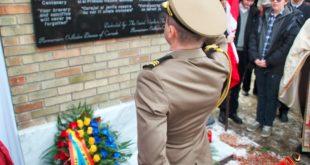 Oshawa (Ontario): Comemorarea soldatilor romani si canadieni cazuti in Primul Razboi Mondial