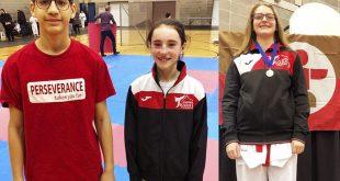 Clubul de karate al senseiului Sorin Alexandru: trei dintre cei sase tineri sportivi calificati pentru Jeux du Québec 2019