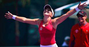 Jucatoarea canadiana de origine romana BIANCA ANDREESCU a castigat turneul de la Indian Wells