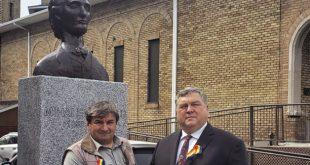 Interviu: Sculptorul P. Birau, autorul bustului poetului EMINESCU de la MONTREAL