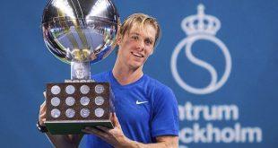 Tenis: Denis Shapovalov (Canada) a cucerit primul titlu al carierei, la Stockholm