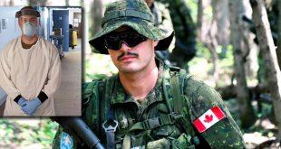 Român din Fortele Armate canadiene, in linia intai in CHSLD-uri